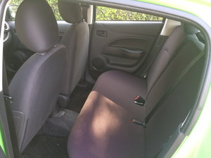 2014 mitsubishi mirage interior back seats