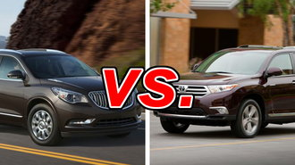 buick enclave versus toyota sienna autos post. Black Bedroom Furniture Sets. Home Design Ideas