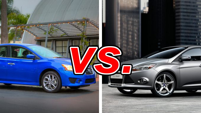 nissan sentra vs ford focus carsdirect. Black Bedroom Furniture Sets. Home Design Ideas