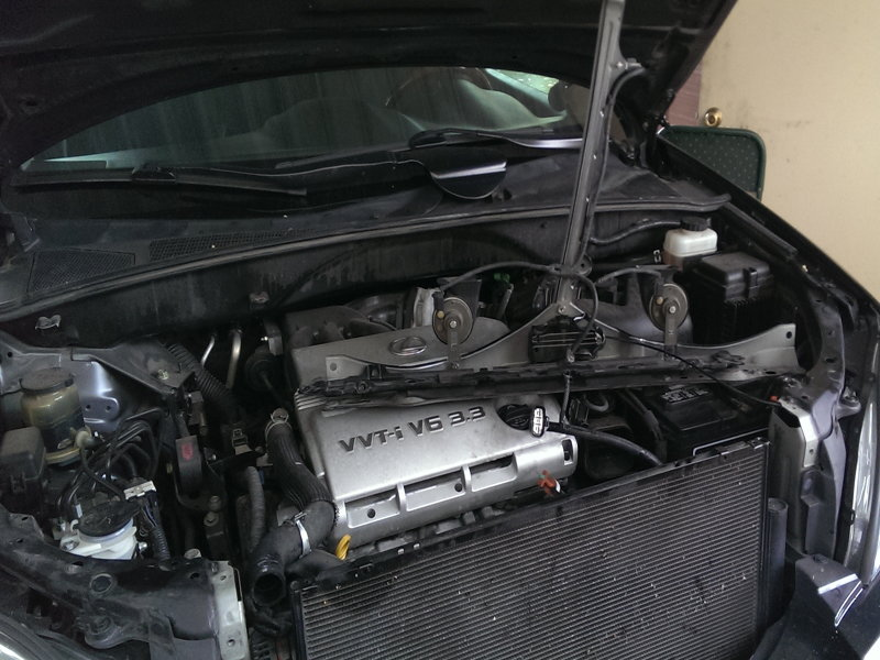 Install Thermostat In A 1996 Lexus Es