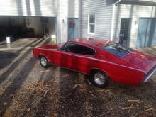 1967 426 Hemi Charger 4-Speed