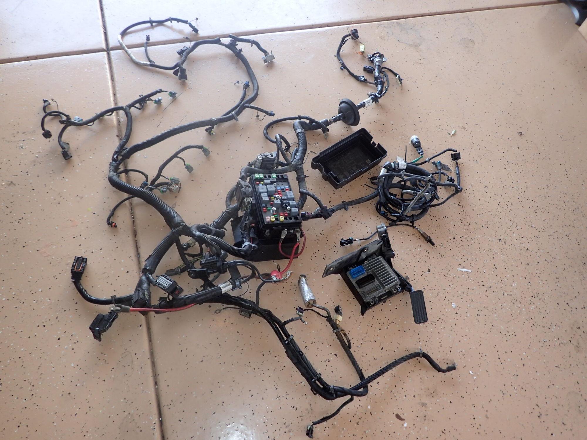 07 Trailblazer Ss Ls2 Wiring Harness