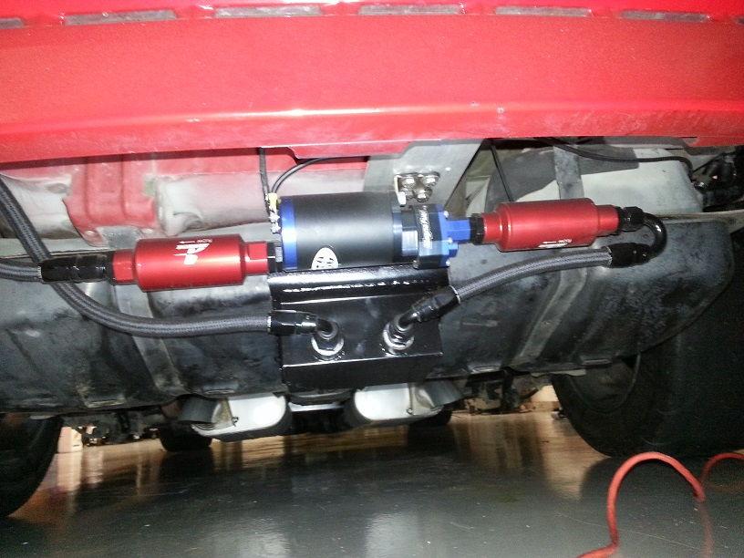 How To Clean Fuel Injectors >> 1999 Cobra 6.0L, 4L80E, Holley Dominator, A/C - LS1TECH