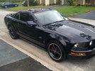 2005 Black Mustang GT