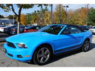 2010 Grabber Blue V6 Convertible