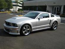 2007 silver Mustang