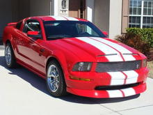 mustang gt torch red