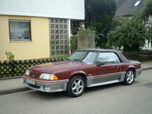 1988 Mustang GT convertible(1st stang)