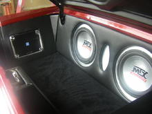 Alpine 5 ch amp and subs.