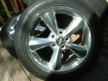 New Shoes ~Used wheels off an 06 -- bought really cheep and in very good condition.