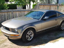 My first baby 05 Mustang