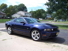 My new Mustang, August 2009