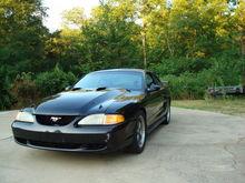 Mustang front shot