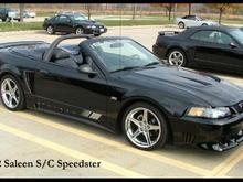 2002 Saleen S/C Speedster Convertible