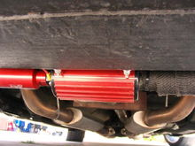 Aeromotive stealth fuel system A1000 pump filters, press reg, fuel rails, and SS lines.