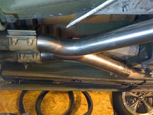 FRPP X-pipe installed