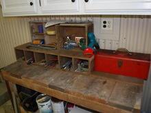 Pop Pop's workbench