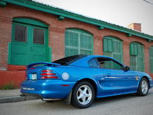 1995 Bright Blue GT