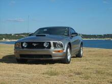 08 silver pony
