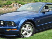 Mustang Waterfall 120