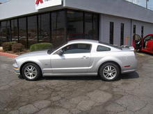 Stock while sitting @ the dealership!