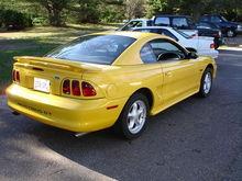 Yellow Stang