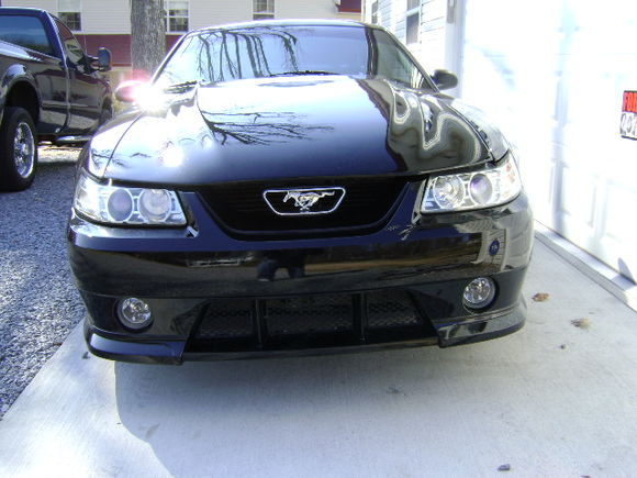front will soon have a diff. grill
