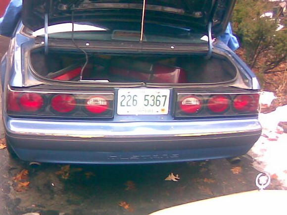 new taillights.