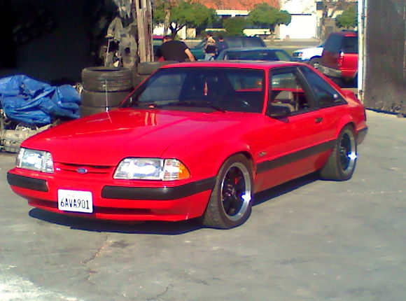 New look with the 5 Lug, sorry crappy phone pic