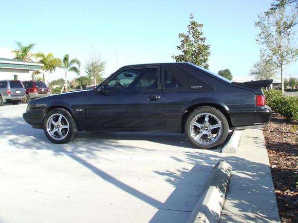 Deep Dish Cobra R Wheels w/ Rivets 17x8 fronts and 17x9 rears