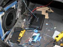 Audi A4b7 Bass on a budget project 2016-01-23 22:13:24