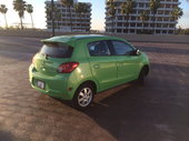 2014 Mitsubishi Mirage quarter back