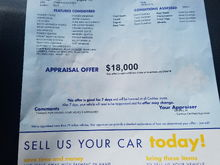 Car got pass with flying colors today they low balled me buy I need it gone I'll take 19,000
