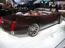 Cadillac Ciel rear,