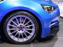 Subaru BRZ Concept STI whee