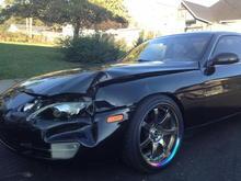 My car wreck pics