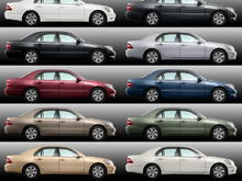 2005LS430 Model Colors