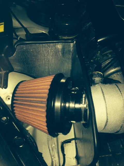 Perhaps the most ugly cold air intake ever made?
