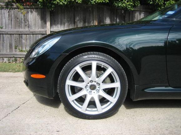 MB Wheels Speed 18x8.5