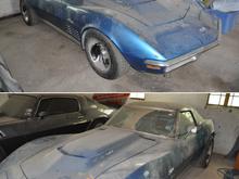 1970 c3 convertible 454 4spd