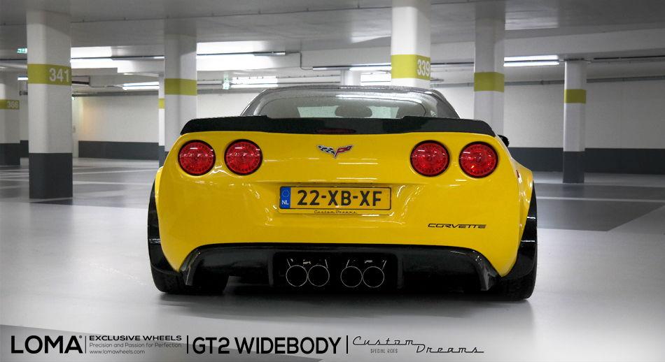 Loma Gt2 C6 Corvette Wide Body Kit Free Shipping 0