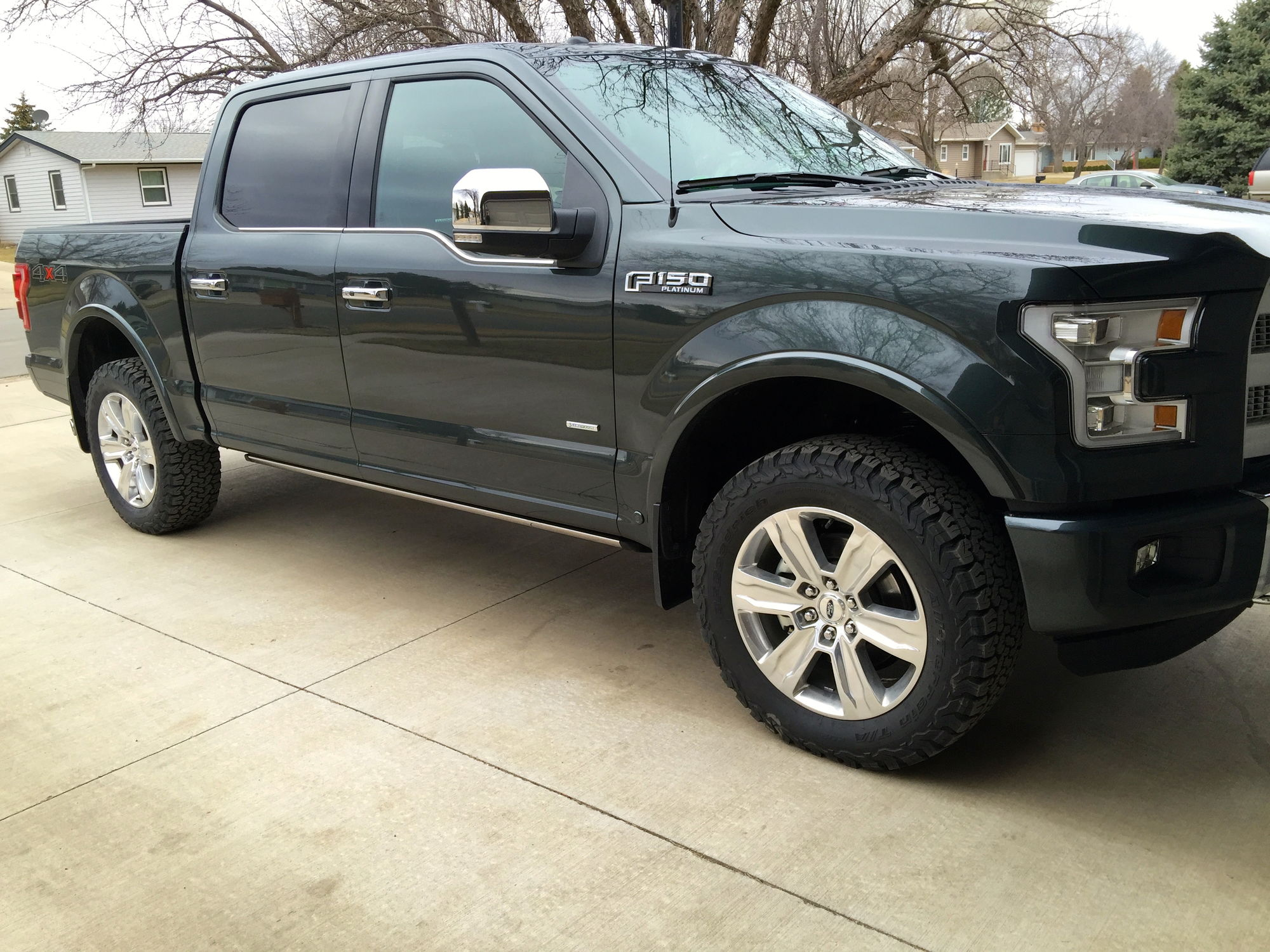 Ford f 150 with 33 inch tires autos post
