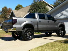 Lift, wheels and tires