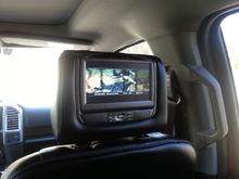 ford dual dvd headrest monitors.