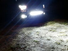 My led bar is my high beams now lol.  Had my led headlights and fogs ordered the day after i bought the truck cant stand the halogens.  I always have a lightbar for where i live the roads are so dark