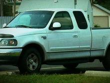 MY WHITE F150