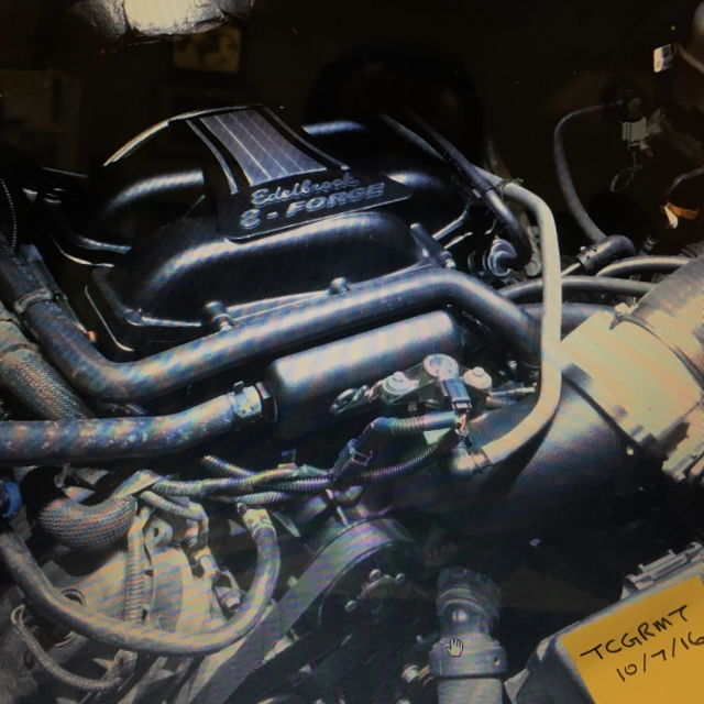 Ford Mustang Edelbrock Supercharger: North Central Edelbrock Supercharger F150 5.0L 2011-14