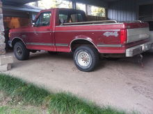 91 F 150 XLT Lariat work truck... Junk yard save