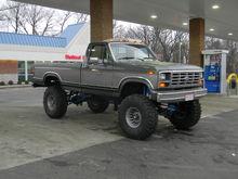 1984 f250 4x4 351w 4 speed