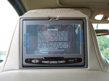 dvd headrest